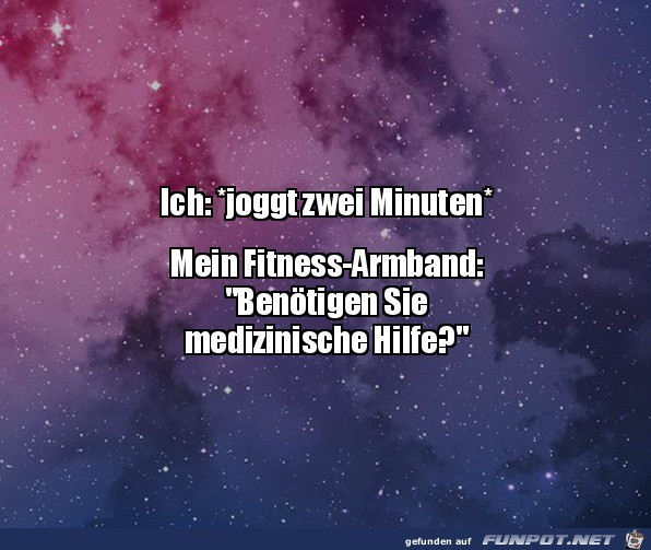 Mein Fitness-Armband
