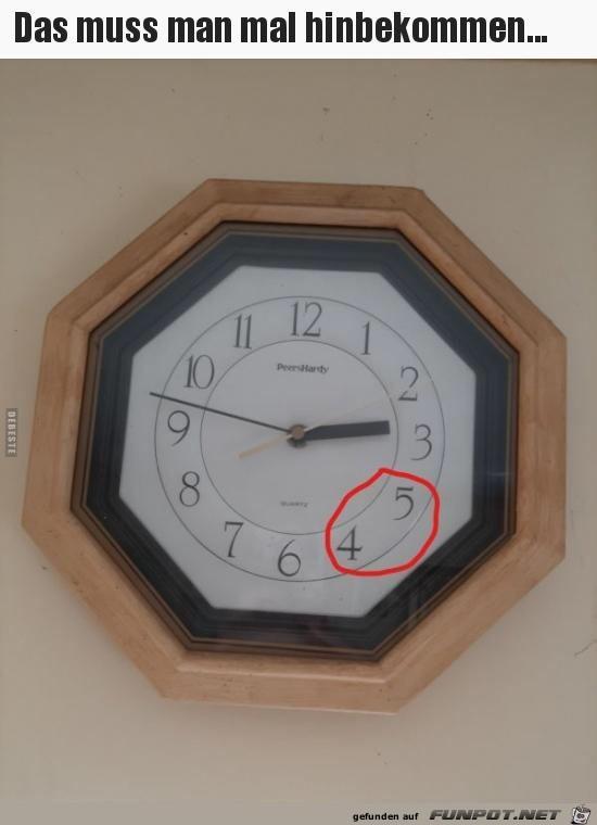 Komische Uhr