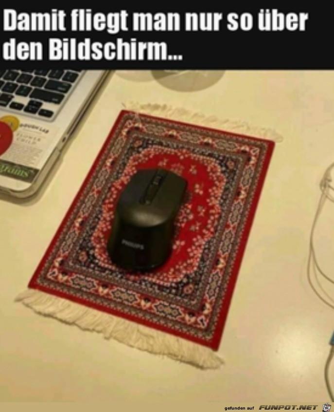 Teppich für die Maus