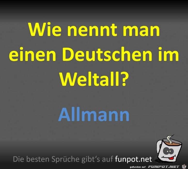 Deutscher im Weltall