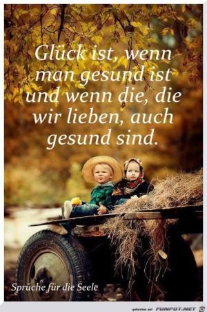 Glueck-ist-wenn-man-gesund-ist.jpg auf www.funpot.net