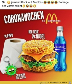 Neues Menü bei McDonalds