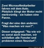 zwei-Microsoftmitarbeiter-fahren-mit-dem-Auto..........jpg auf www.funpot.net