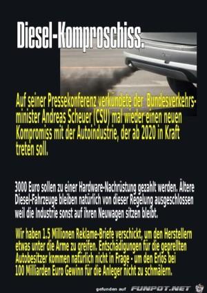 Diesel-Komproschiss