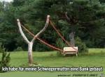 Gartenbank-für-die-Schwiegermutter.jpg auf www.funpot.net