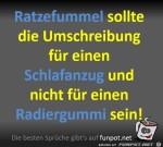 Der-Ratzefummel-sollte-ein-Schlafanzug-sein.jpg auf www.funpot.net