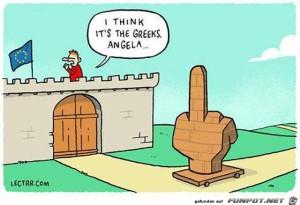 ich glaube das sind die Griechen
