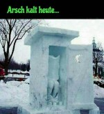 Arsch-kalt-heute.jpg auf www.funpot.net