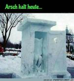 Arsch-kalt-heute.png auf www.funpot.net