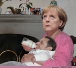 wie-die-Merkel-sich-lieb-kümmert.jpg auf www.funpot.net