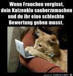 Schlechte-Bewertung-von-der-Katze.jpg auf www.funpot.net