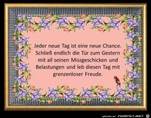 Jeder-Tag-ist-eine-neue-Chance.jpg auf www.funpot.net