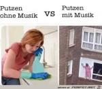 Putzen-mit-Musik.jpg auf www.funpot.net