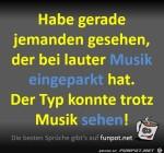 Trotz-Musik-eingeparkt.jpg auf www.funpot.net