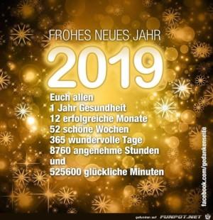 Wuensche allen ein gutes neues Jahr