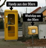 Handy-und-WhatsApp-früher.jpg auf www.funpot.net