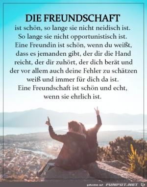 Eine-Freundschaft-muss-ehrlich-sein.jpg auf www.funpot.net