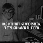 Internet-ist-wie-Ostern.jpg auf www.funpot.net