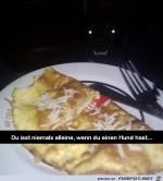 Niemals-alleine-essen.jpg auf www.funpot.net
