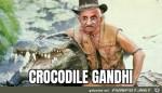 Crocodile-Gandhi.jpg auf www.funpot.net