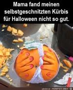 Selbstgeschnitzter-Kürbis.jpg auf www.funpot.net