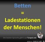 Betten-sind-die-Ladestationen-der-Menschen.jpg auf www.funpot.net