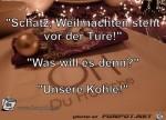 """Schatz,-Weihnachten-steht-vor-der-Türe!""""--""""Wa.jpg auf www.funpot.net"""