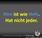 Hirn-ist-wie-Hefe.jpg auf www.funpot.net