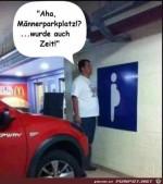Männer-Parkplatz.jpg auf www.funpot.net
