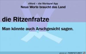 0563-Neue-Worte-Ritzenfratze.png auf www.funpot.net