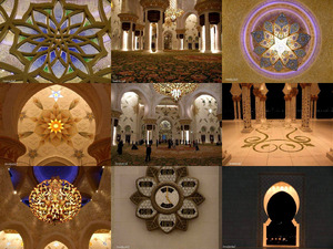 die Schaich-Zayid-Moschee