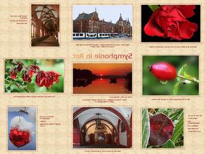Symphonie in Rot