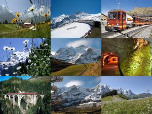 Zahnradbahn-Jungfraujoch