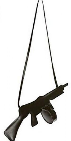 Maschinengewehr-Handtasche!