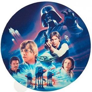 Zucker-Tortenaufleger Star Wars!