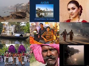 Indien - Land der Kontraste