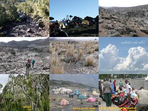 eine Tour auf den Kilimandscharo