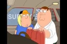 Peter Griffin zeigt seinem Sohn etwas