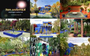 Marokk Marakesh - Majorelle - kert