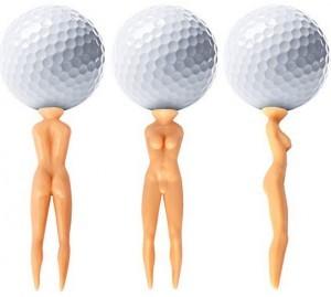 lustige Golfball-Halter!