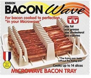 Bacon-Halter für die Mikrowelle!