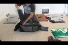 aprenda a arrumar uma mala
