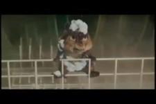 Alvin ohne die Chipmunks beim Duschen