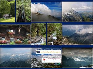 Felsen und Landschaften