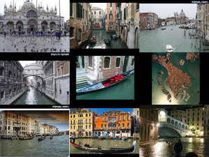 Bilder von Venedig mit Musik von Pavarotti