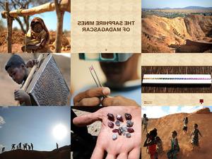 zThe sapphire mines of Madagascar-