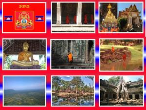 Kambotscha 40 Tempel u Moenche