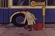 HB-Männchen- Bushaltestelle