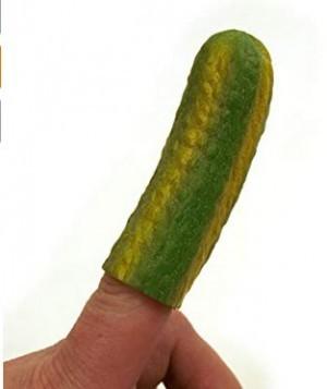 Finger Essiggurke!