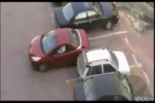 Rache fuer Parkplatzklau
